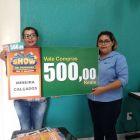 Ganhadores dos vale-compras que participaram da Campanha Show de Prêmios CDL + Brumado