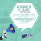 Atenção! Decreto Nº 5251!